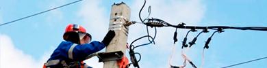 Уличные и высотные работы - электромонтаж
