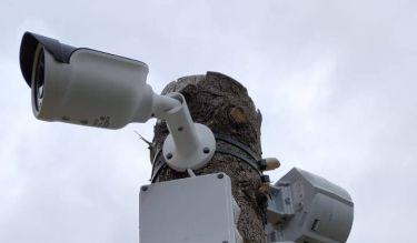 Видеонаблюдение на улице за стройкой на дачном участке