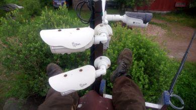 Видеонаблюдение на территории СНТ и оборудование сторожки