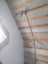 Монтаж проводки для потолочного освещения