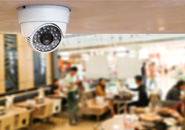 Видеонаблюдение в ресторане и кафе